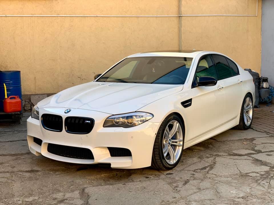 AUTO DETAILING BMW M5 F10