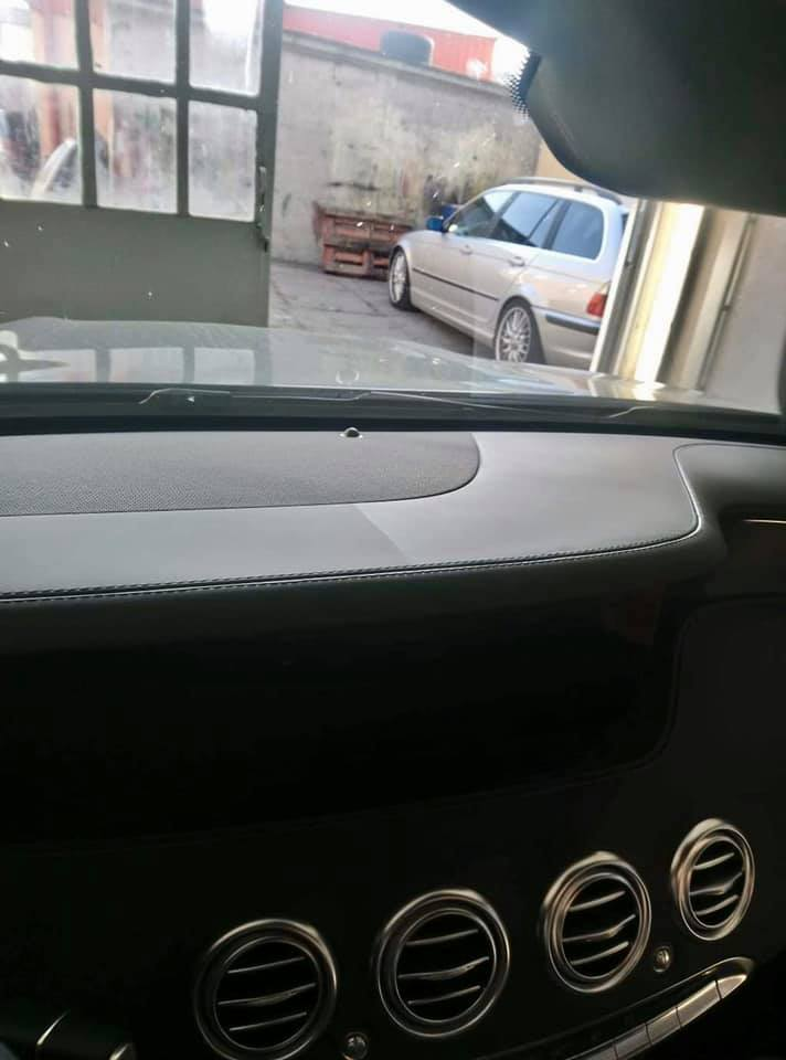AUTO DETAILING MERCEDES AMG S63