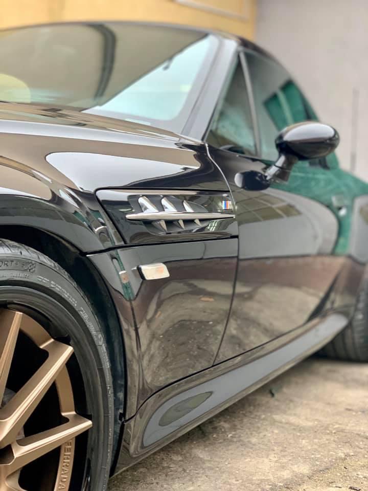 Wieloetapowe mycie detailingowe BMW Z3M
