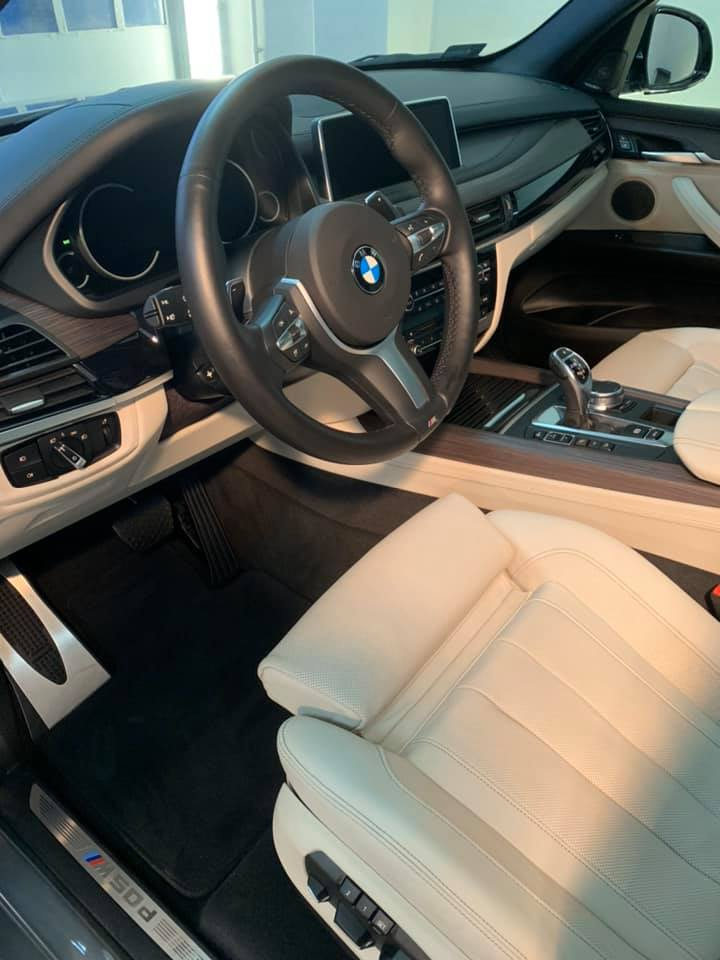 DETAILING BMW X5 M550D